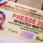 Première Carte de Presse pour Reporter-Citoyen !